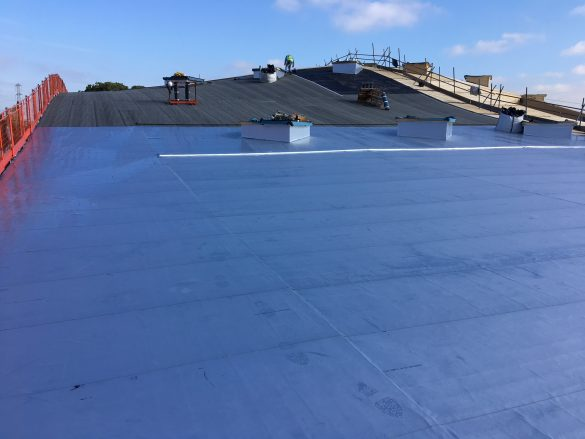 """""""Complex design"""" requires """"elegant and pliable"""" roofing solution"""