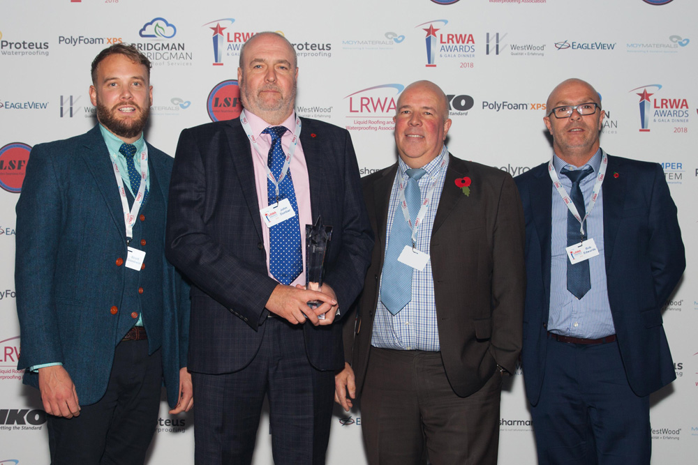 Liquid roofing and waterproofing sector celebrates talent